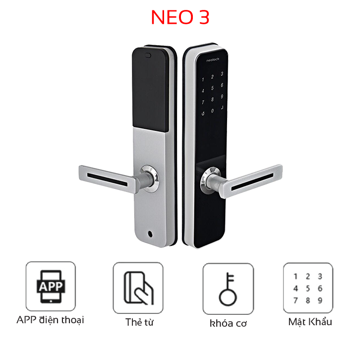 High-end electronic lock NeO3