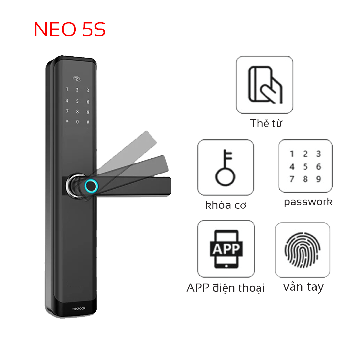 High-end electronic lock NeO5s