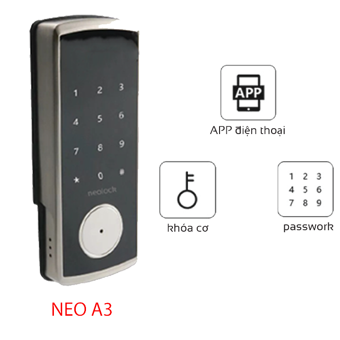 High-end electronic lock NeoA3
